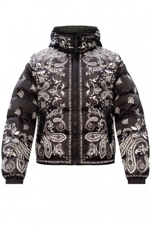 Quilted down jacket od Versace Jeans Couture