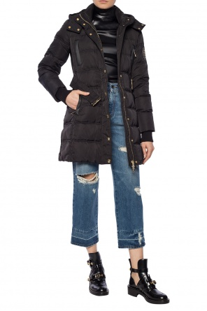 Quilted jacket with belt od Versace Jeans