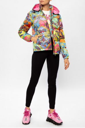 Printed down jacket od Versace Jeans Couture