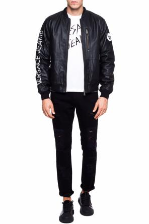 Bomber jacket with logo od Versace Jeans