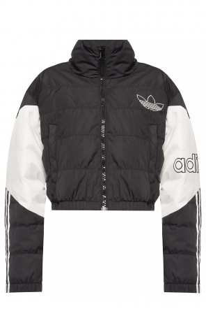 Cropped jacket with logo od ADIDAS Originals