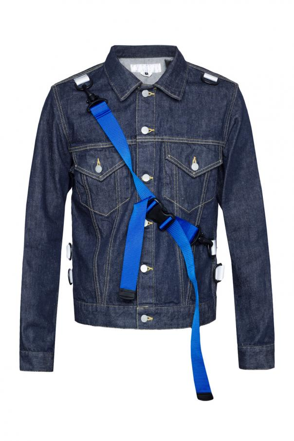 821a07279b Denim jacket with detachable inserts Comme des Garcons Ganryu ...