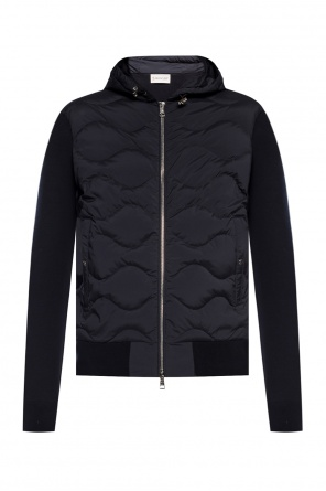 Jacket with quilted front od Moncler