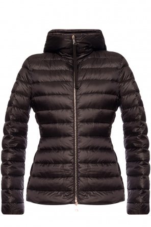 'amethyste' hooded quilted jacket od Moncler