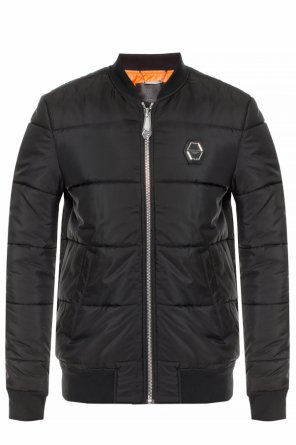 Quilted jacket with logo od Philipp Plein