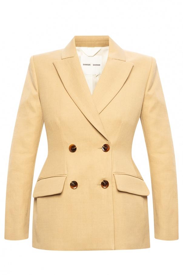 'miroux' double-breasted blazer od Samsoe Samsoe