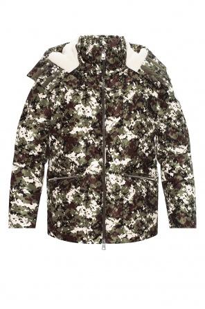 'blanc' down jacket od Moncler