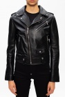 Philipp Plein Biker jacket with logo