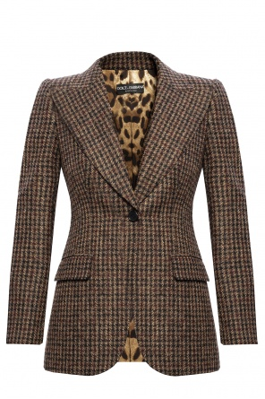 Checked blazer od Dolce & Gabbana