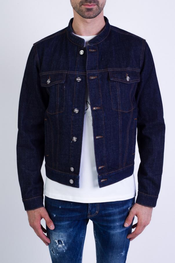 e278d167 Logo-printed denim jacket Kenzo - Vitkac shop online