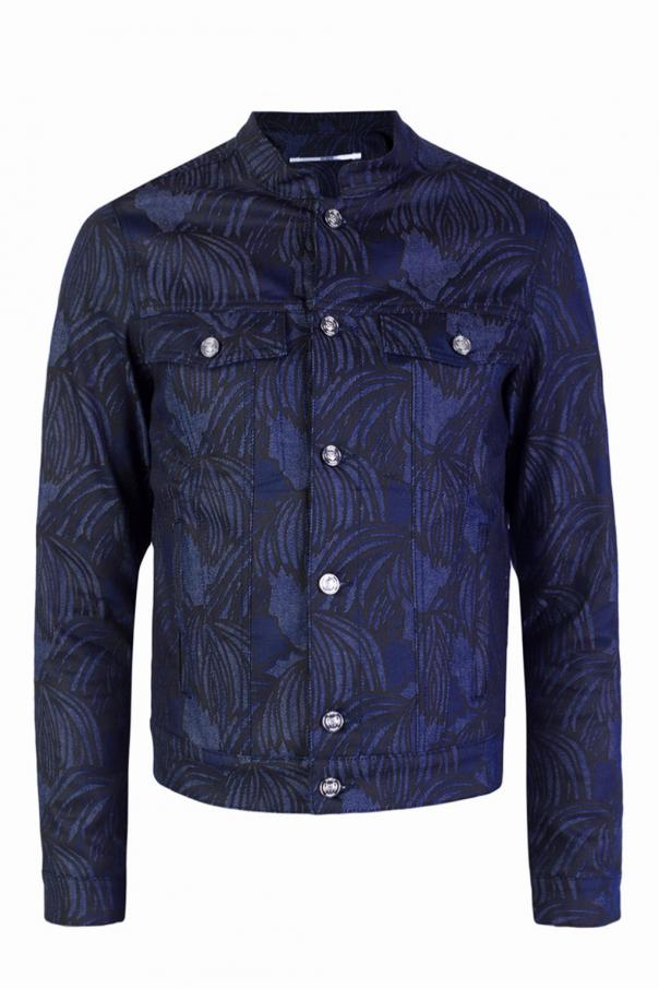 fe27dc21 Patterned denim jacket Kenzo - Vitkac shop online
