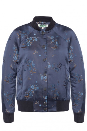 Bomber' jacket with embroidered pattern od Kenzo