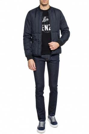 Patched quilted jacket od Kenzo