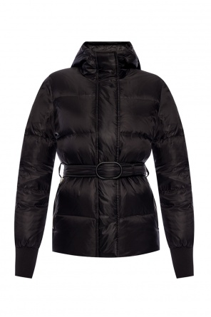 Quilted down jacket with belt od Kenzo