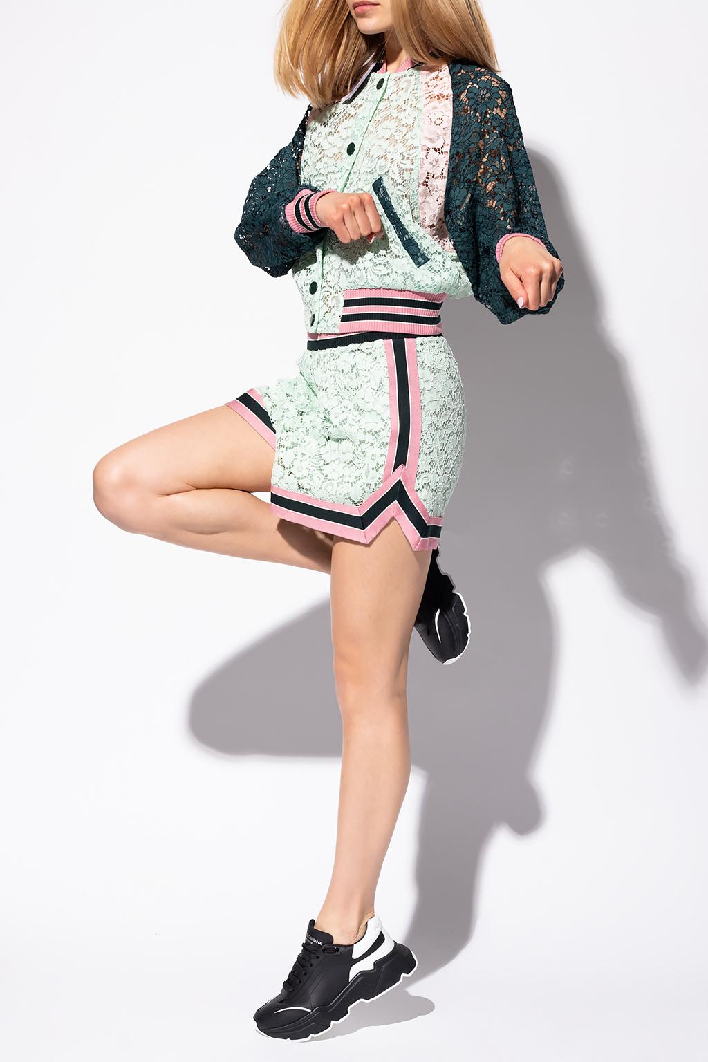 Dolce & Gabbana 蕾丝飞行员夹克