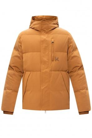 Down jacket with logo od Kenzo