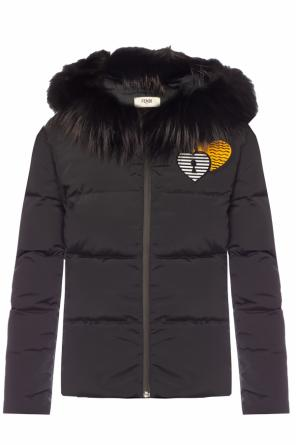 Down jacket od Fendi