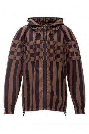 Reversible jacket with logo od Fendi