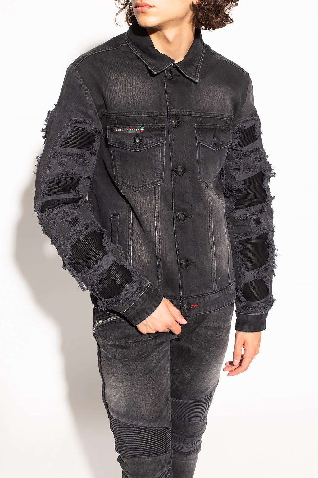 Philipp Plein 品牌牛仔夹克