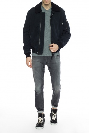 Jacket with elastic trims od AllSaints
