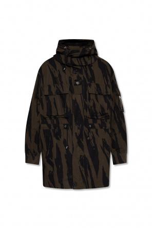 Płaszcz z odpinanym kapturem od Kenzo