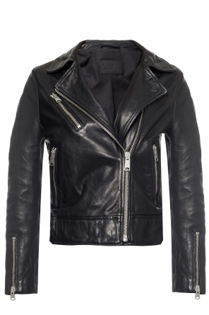 'fia' leather jacket od AllSaints