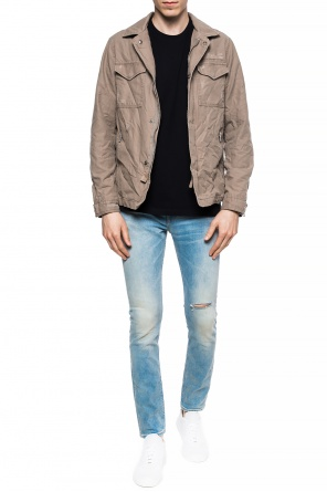 'filmore' distressed jacket od AllSaints