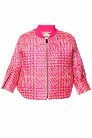 Patterned jacket od Fendi