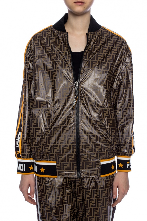Reversible bomber jacket od Fendi