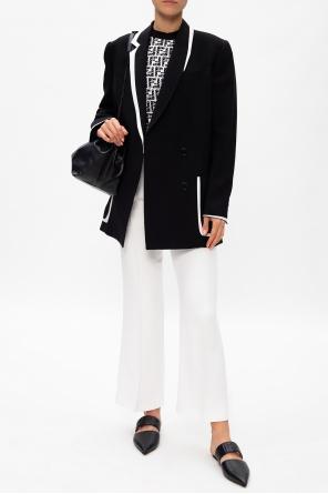 Double-breasted blazer od Fendi