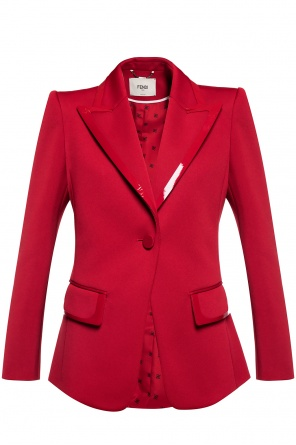 Blazer with notched lapels od Fendi