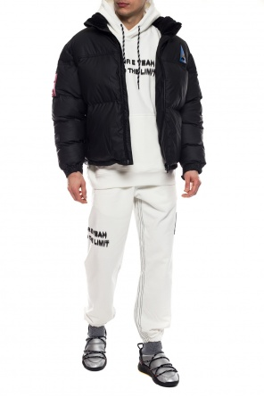 Puffer jacket with logo od ADIDAS by Alexander Wang