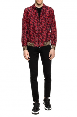 Patterned bomber jacket od Fendi