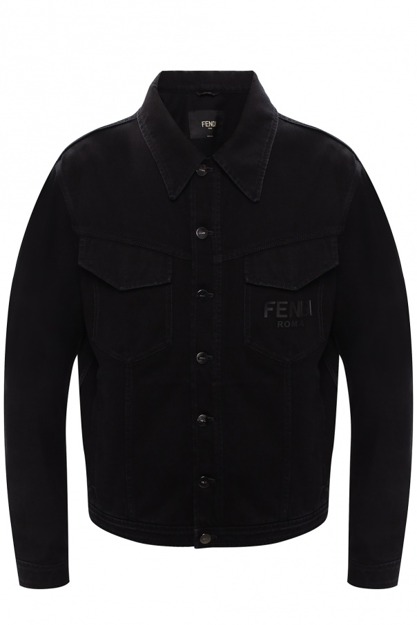 Fendi Denim jacket with logo