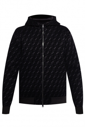 Jacket with logo od Fendi