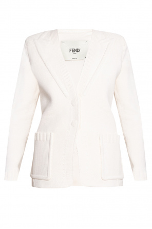 Cardigan with pockets od Fendi