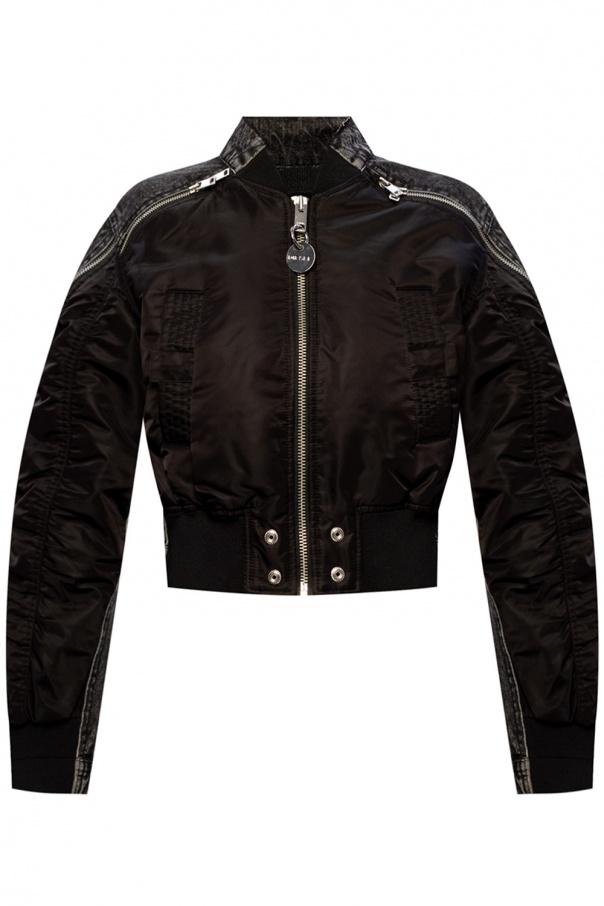 Diesel Crossbreed denim jacket
