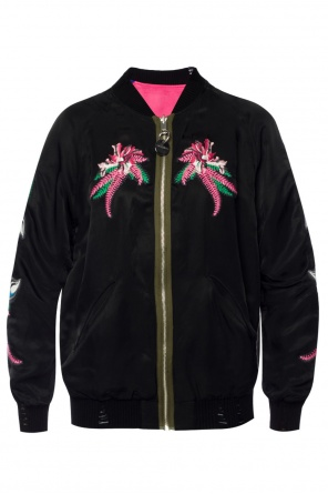 Embroidered reversible jacket od Diesel