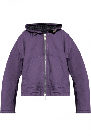 Insulated hooded jacket od Diesel