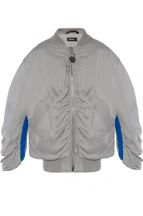 Insulated bomber jacket od Diesel