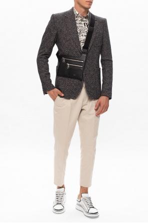 Houndstooth blazer od Dolce & Gabbana