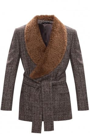 Patterned jacket od Dolce & Gabbana