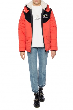 Hooded quilted jacket od Golden Goose