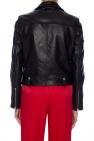 Leather biker jacket od Golden Goose