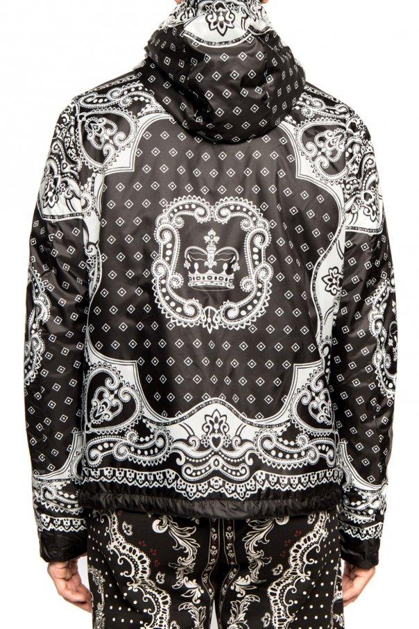 Dolce & Gabbana Dwustronna kurtka z kapturem gHVNwSAI
