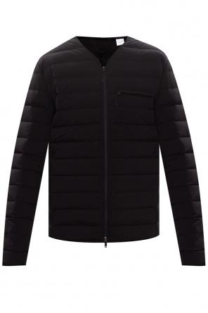 Down jacket with logo od Y-3 Yohji Yamamoto