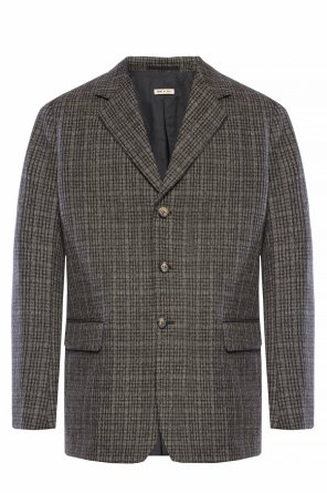 Checked wool blazer od Marni