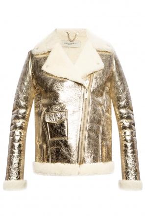 Leather jacket od Golden Goose