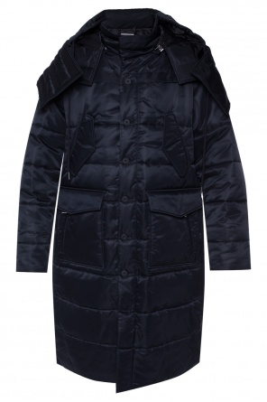Long quilted jacket od Helmut Lang