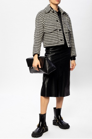 Houndstooth jacket od Ami Alexandre Mattiussi
